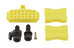 Shimano ZEE BR-M640 Scheibenbremse Vorderrad mit G01S Resin schwarz